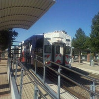 Photo taken at Victory Station (DART Rail / TRE) by Anthony T. on 10/14/2011