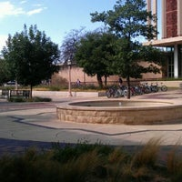 Photo taken at TTU - SUB - West Plaza by Kc S. on 9/20/2011