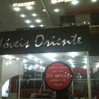 Photo taken at Moveis Oriente Shopping IInterlar by Ricardo A. on 4/25/2012