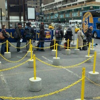 Photo taken at MegaBus NYC Stop by Trevor S. on 3/14/2011