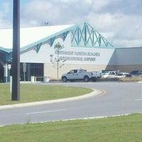 Photo taken at Northwest Florida Beaches International Airport (ECP) by Jenny E. on 9/26/2011
