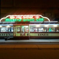 Photo taken at Mickey's Diner by Nicole U. on 3/25/2012