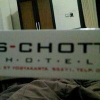 Photo taken at S-Chott Hotel by Nedi L. on 10/5/2011