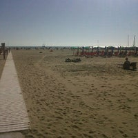 Photo taken at Spiaggia Libera by Andrea M. on 6/14/2012