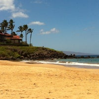 Photo taken at Wailea Beach by Rose on 5/26/2012