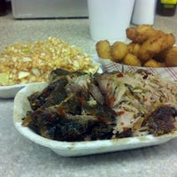 Photo taken at Lexington Barbecue by Charlie B. on 11/25/2011