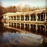 Photo taken at Central Park Boathouse by Viviane M. on 1/29/2012