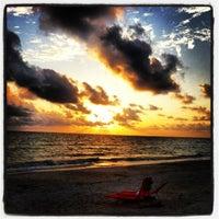 Photo taken at Bonita Beach by Jc Q. on 5/18/2012