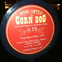 Photo taken at Little Red Wagon Corn Dogs by Michael S. on 6/19/2012