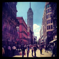 Photo taken at Corredor Peatonal Madero by Raul M. on 8/31/2012