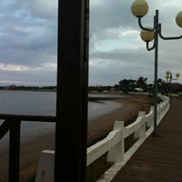 Photo taken at Mar Chiquita by Gustavo P. on 3/8/2011