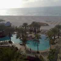 Photo taken at Sandpearl Resort by Timmy P. on 1/11/2012