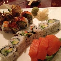 Photo taken at Aki Japanese Cuisine by Kelsey R. on 7/26/2012