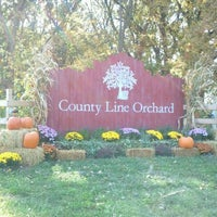 Photo taken at County Line Orchard by Yvette S. on 10/9/2011