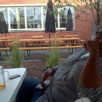 Photo taken at Arbor Brewing Company Microbrewery by Sam J. on 7/27/2012