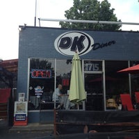 Photo taken at DK Diner by Matthew W. on 6/17/2012
