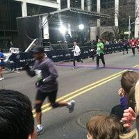 Photo taken at NYRR NYC Half 2012 - Finish Line by Matt H. on 3/18/2012