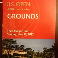 Photo taken at The Oympic Club Golf Course by Steve V. on 6/18/2012