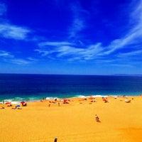 Photo taken at Praia das Bicas by Vasco S. on 9/1/2012