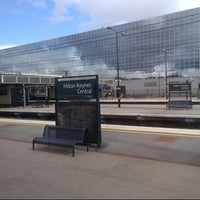 Photo taken at Milton Keynes Central Railway Station (MKC) by DTourist F. on 8/25/2012