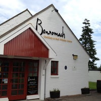 Photo taken at Benromach Distillery and Malt Whisky Centre by Natalie Y. on 9/3/2012