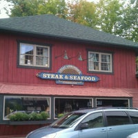 Photo taken at Great Adirondack Steak and Seafood by andrew on 9/7/2012