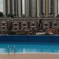 Photo taken at Desa Permai Swimming Pool by Richard A. on 6/7/2012