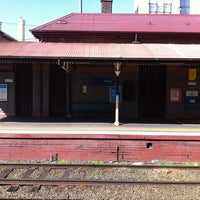 Photo taken at Prahran Station by Kelly on 9/9/2012