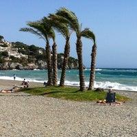 Photo taken at La Herradura Beach by Carlos Elipe (Chilipe) I. on 7/1/2012