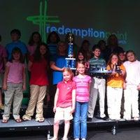 Photo taken at Redemption Point Church by Rhonda J. on 4/22/2012