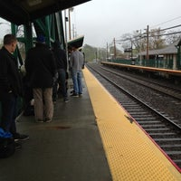 Photo taken at LIRR - Sayville Station by Steven B. on 4/22/2012