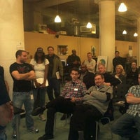 Photo taken at Startup Camp by Toby M. on 3/24/2012