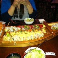 Photo taken at Utage Athens Sushi Bar by Young-In L. on 4/5/2011