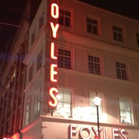 Photo taken at Foyles by Liam H. on 11/29/2011