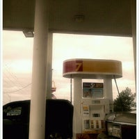 Photo taken at Shell by Gabriela D. on 2/5/2012
