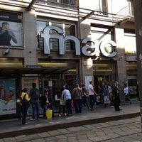 Photo taken at Fnac by Elio B. on 5/4/2012