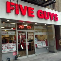 Photo taken at Five Guys by Dino C. on 3/28/2012