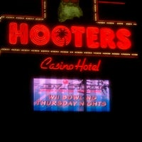 Photo taken at Hooters Hotel & Casino by Ric W. on 6/20/2012