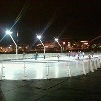 Photo taken at Brenton Skating Plaza by Donnie B. on 12/20/2011
