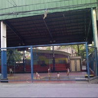 Photo taken at Purok 11 Basket Ball Court by Dhale C. on 6/11/2012