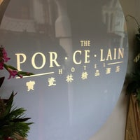 Photo taken at Porcelain Hotel by Kittipong J. on 5/17/2011