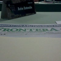 Photo taken at Periodico Frontera by Ario R. E. on 3/21/2012