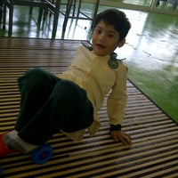 Photo taken at Greenview Islamic School Bukit Jelutong by Ali A. on 4/25/2012