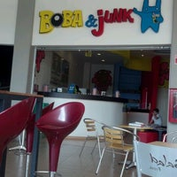 Photo taken at Boba & Junk by JORGE N. on 5/27/2012