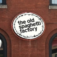 Photo taken at The Old Spaghetti Factory - St. Louis by Erin S. on 6/18/2012