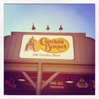 Photo taken at Cracker Barrel Old Country Store by Kelly M. on 10/21/2011