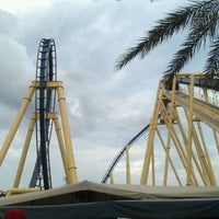 Photo taken at Montu by Tara A. on 9/4/2011