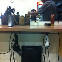 Photo taken at Barbearia do Onofre by Vicente J. on 7/5/2012