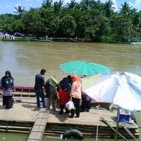 Photo taken at Pasar Minggu Munok by Fifi S. on 10/10/2011