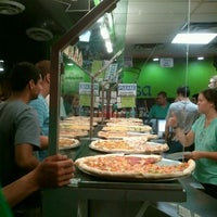 Photo taken at Mesa Pizza By The Slice by Jonathan R. on 9/2/2012